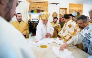 Sfințirea bisericii militare din incinta MApN