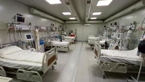 VIDEO - Spitalul Modular de la Lețcani a operaționalizat primele 24 de paturi ATI