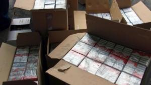 Zeci de milioane de țigarete de contrabandă, confiscate de autorități în primele trei trimestre din 2021